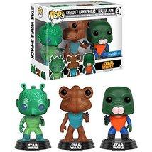 Funko Greedo, Hammerhead, Walrus Man (Walmart Exclusive) POP! x Star War... - $47.99