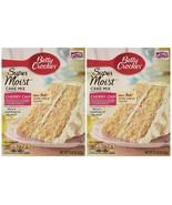 Betty Crocker Super Moist Cake Mix-Cherry Chip-15.25 Oz,2 Pack - $15.34