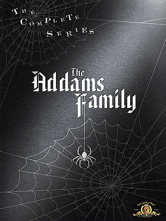 Adams family complete series dvd