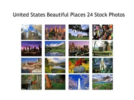 United States Beautiful Places 24 High Quality JPG Images 300 DPI Print ... - $24.00