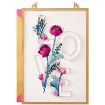 """Valentine's Day Card with Envelope (""""Love"""" Hangable Art ) - $5.99"""
