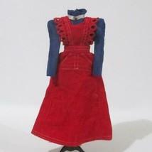 Barbie O Boy Corduroy 3486 Max Jumper Dress HTF Top With Bead 1972 - $79.19