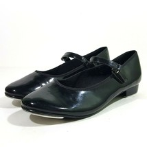 ABT American Ballet Theatre Girls Spotlight Tap Shoes Black Size 3 Mary Janes - $19.79