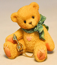 Cherished Teddies - Bear with Gold Key - Special Edition 302759D - $12.66