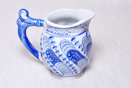 Vintage Collectible Blue & White Porcelain Chinoisere Handpainted Small ... - $19.00
