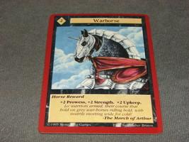 Quest For the Grail 1995 CCG: Horse Reward - Warhorse - $5.00