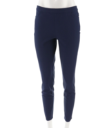 Isaac Mizrahi Petite 24/7 Stretch Slim Leg Pants Dark Navy,Size 20WP NEW... - $24.74