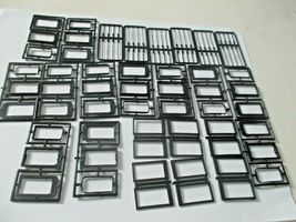 American Limited 9106 Heavyweight Black Diaphragms for 6 Cars Athearn HO-Scale image 3