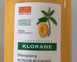 KLORANE Nourishing Treatment Shampoo with Mango Butter 3.38 fl oz hydrating