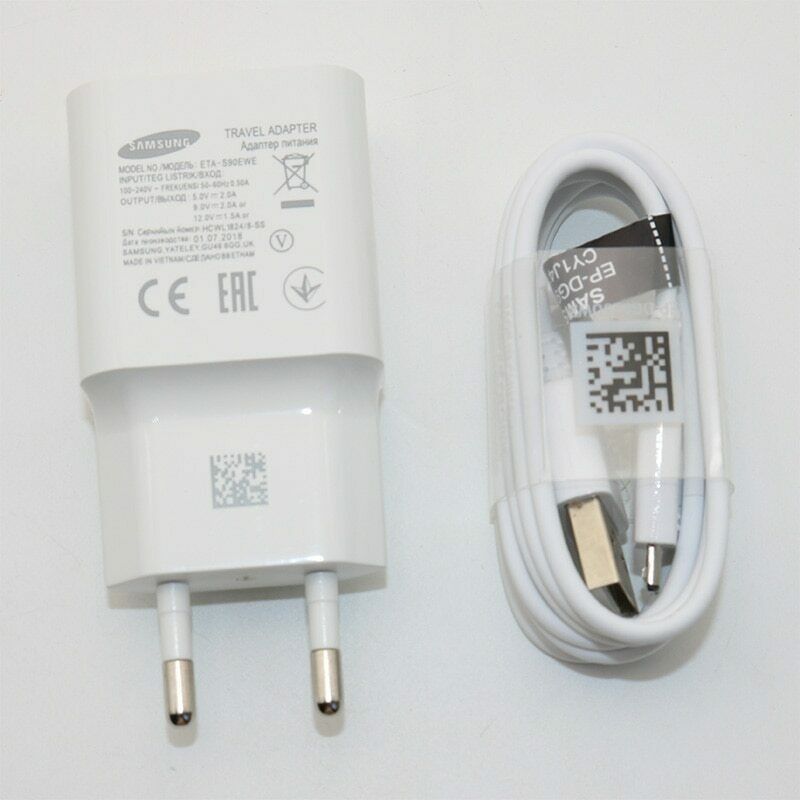 Original for Samsung Galaxy Fast Charger Travel Wall 9V2A or 5V2A charge image 8