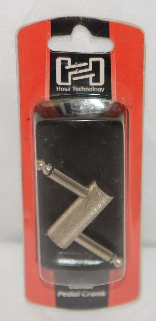 Hosa Technology GPP146 Guitar Pedal Crank Shortens Signal Chain