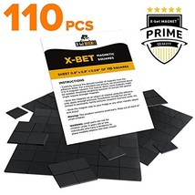 """Magnetic Squares - 110 Self Adhesive Magnetic Squares (Each 4/5"""" x 4/5"""")... - $11.17"""