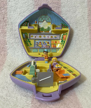 Bluebird Vintage Polly Pocket 1992 Fast Food Restaurant Playset *Complete W/Tray - $74.99