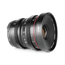 Meike 25mm T2.2 Manual Focus Prime Mini Cinema Lens for Sony E-Mount APS-C Frame - $399.00