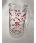 1972 Fahnenweihe Sheboygan Wisconsin Drinking Glass - $12.09