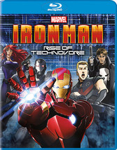 Iron Man-Rise Of The Technovore (Blu Ray/Ut/Dd5.1/1.78/Eng/Us/Kor/Sub)
