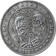 Hobo Nickel 1885-CC USA Morgan Dollar COIN COPY Type 126 - $8.99