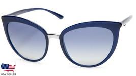 New D&G Dolce&Gabbana DG6113 3094/4L Opal Blue Sunglasses 55-18-140 B48mm Italy - $148.49