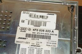Audi A6 Bose Radio Amplifier Amp Stereo Receiver Audio 4F0-035-223A image 8