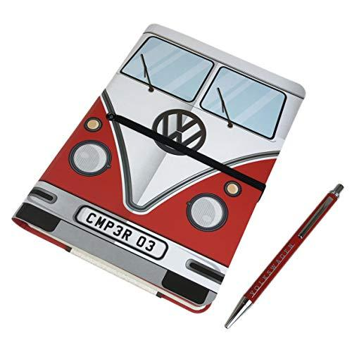 Primary image for Volkswagen (Red Camper) Travel Journal Notebook