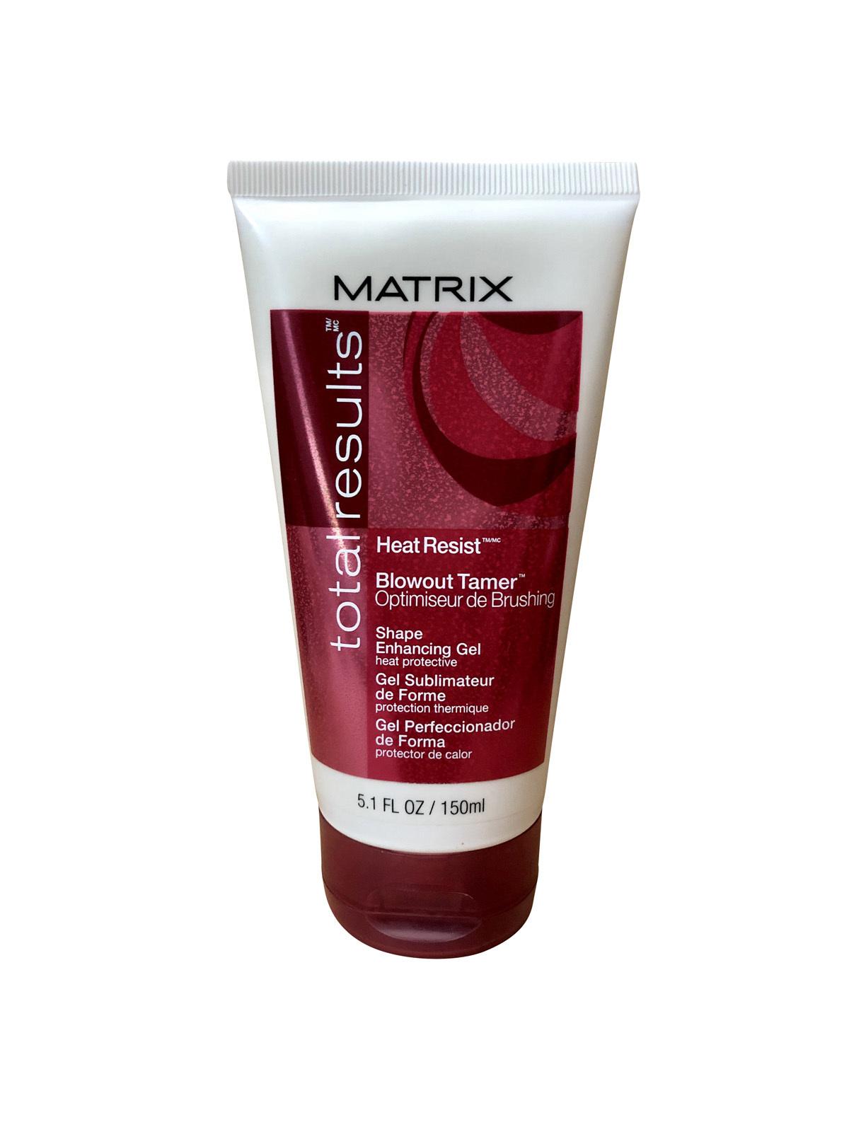 Matrix Total Results Heat Resist Blowout Tamer Shape Enhancing Gel 5.1 OZ - $12.99