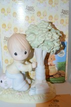 Precious Moments 1994 Money's Not The Only Green Thing Worth Saving 531073  - $11.40