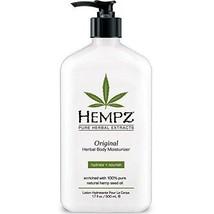 SHIP BY USPS Hempz Original Herbal Body Moisturizer, 17 Fluid Ounce - $25.95