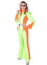 70's Glam Rock / Space 3 piece - Neon  , XS - XXL  - $60.19