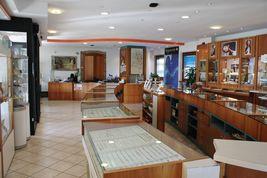CIONDOLO CROCE ORO GIALLO BIANCO 750 18K, SQUADRATA, ALTERNATA, SOLIDA, ITALY image 9