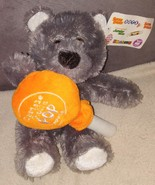 Tootsie Roll Orange Pop GRAY BEAR PLUSH by Good Stuff from 2005 - $9.96