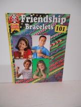 """2001 Design Originals~""""101 Friendship Bracelets"""" #3335 Instruction Booklet - $7.95"""