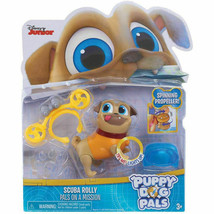 Disney Junior Puppy Dog Pals Light Up Pals On A Mission - Scuba Rolly - $11.34