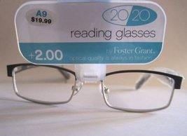 Foster Grant Reading Glasses - 20/20 Rowan - 1.25 - $10.99