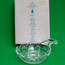 NIB, Partylite Crystal Chamberstick Taper Candle Holder, 24% Lead Crystal - $6.95