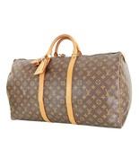 Authentic LOUIS VUITTON Keepall 55 Monogram Canvas Duffel Bag #35712 - $495.00