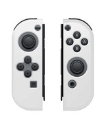 Amzer Silicone Skin Jelly Case for Nintendo Switch Joy Con - Clear - $6.88