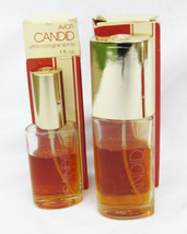 2 partial bottles Candid Ultra Cologne spray Avon about 2 ounce total - $5.95