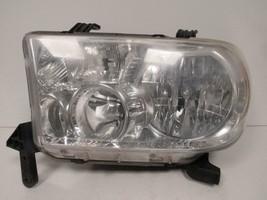 2010 2011 2012 2013 TOYOTA TUNDRA DRIVER LH HEADLIGHT W/ LEVELING OEM C72L - $82.45
