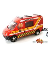 RARE KEY CHAIN RED RENAULT MASTER PARAMEDIC AMBULANCE EMT EMS MEDICAL RE... - $24.98