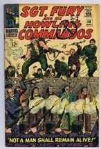 Sgt Fury and His Howling Commandos #28 ORIGINAL Vintage 1966 Marvel Comics - $19.79