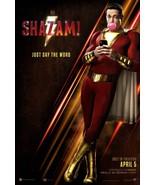 Shazam - original DS movie poster 27x40 D/S DC - other Captain Marvel - $29.00