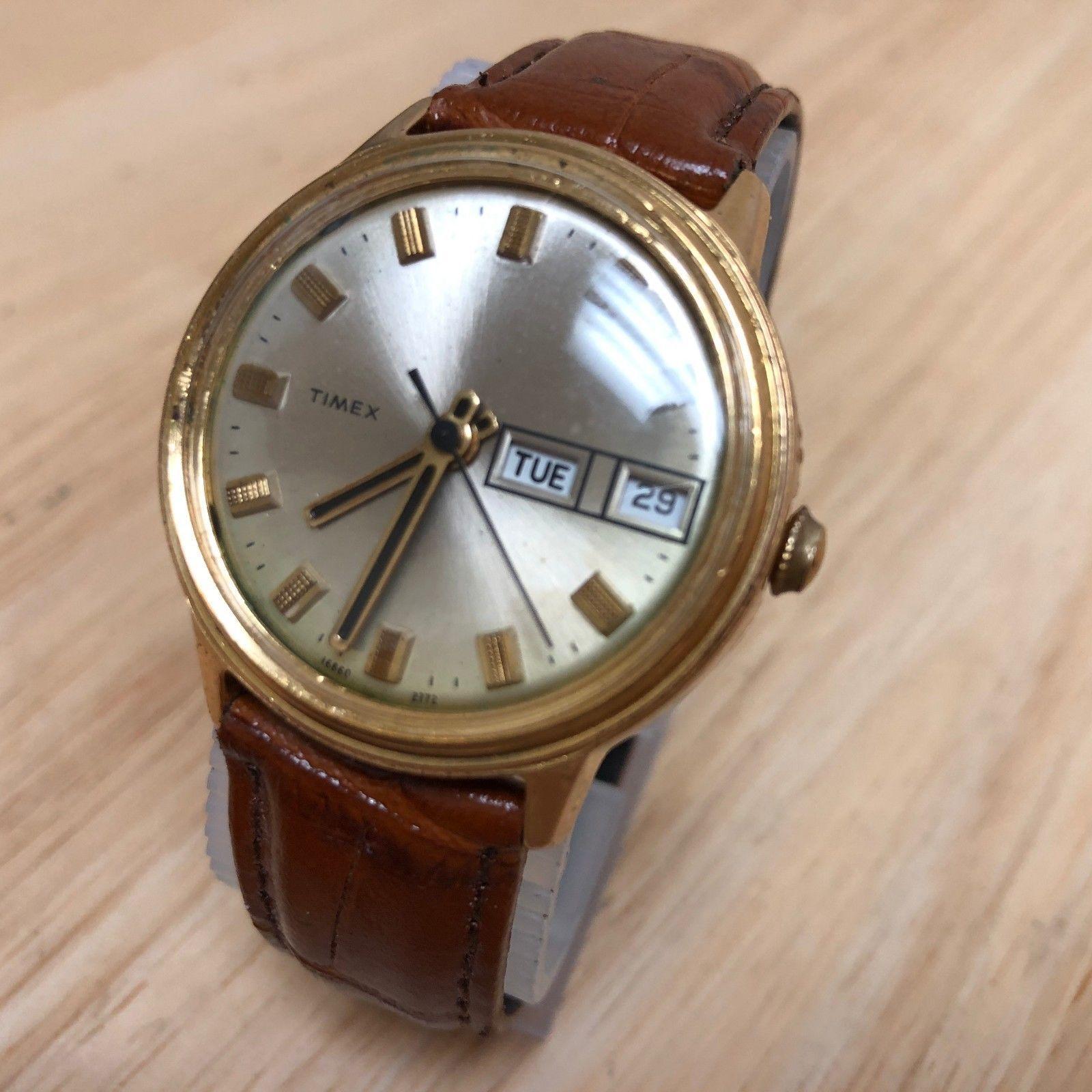 6f99ea7fd Vintage Timex Mercury Men Gold Tone and 50 similar items