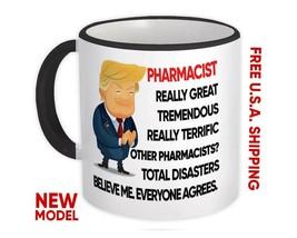 PHARMACIST Gift Funny Trump : Mug Terrific Pharmacist Christmas Jobs - $13.37+