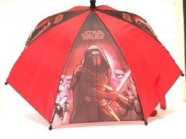 DISNEY Star Wars Umbrella - figure Handle the Force Awakens NEW - $17.81