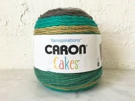 Caron Cotton Cakes Acrylic Wool Self-Striping Yarn -1 Skein Zucchini Loaf #17048 - $12.30