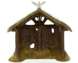 Hagen Renaker Specialty Nativity Manger with Dove Ceramic Figurine