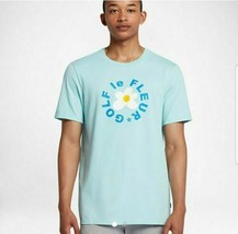 Converse Mens One Star Golf Le Fleur T Shirt Tee Light Blue Teal Sizes S... - $39.99