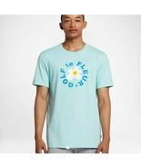 Converse Mens One Star Golf Le Fleur T Shirt Tee Light Blue Teal Sizes S... - $45.01