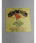 Bell brand AutoHarp Strings C or 1 higher octave 1, 2, 2 3/4 (a12-18) - $14.85