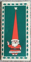 Hess Department Store Santa Photo Christmas Card Allentown Pa - 1971 - $5.99